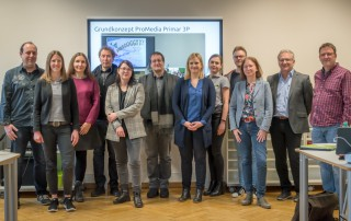 Digitales Klassenzimmer und Forschung zur digitalen Bildung als internationales Vorbild